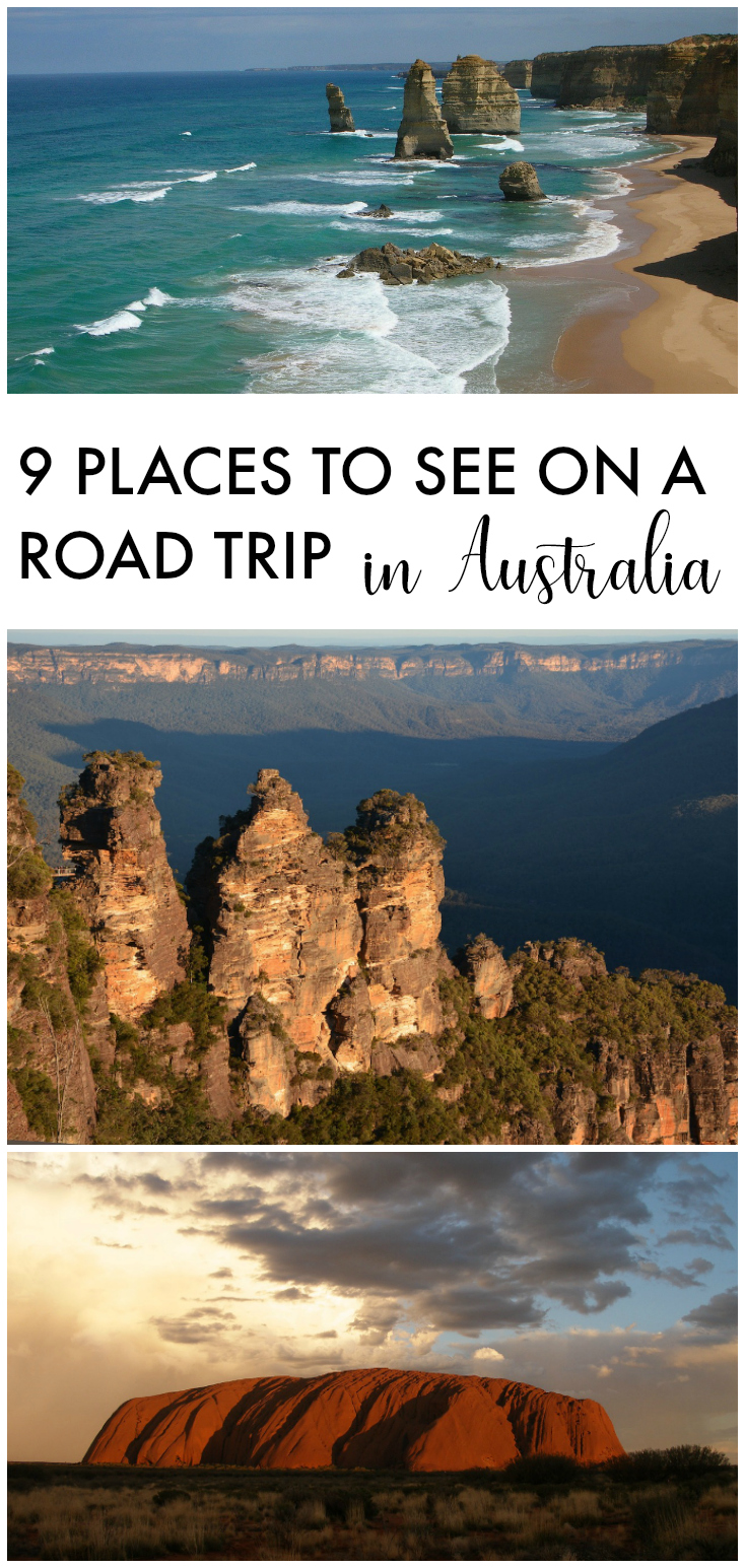 Road Trip in Australia, Places to See things to do