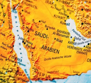 map, Travel to Saudi Arabia