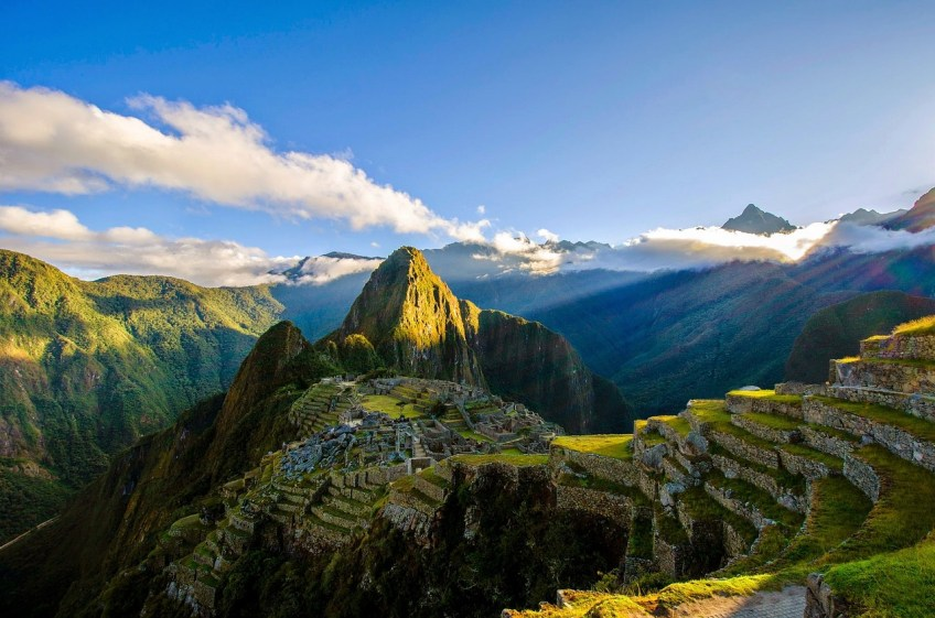 MACHU PICCHU SOUTH AMERICA