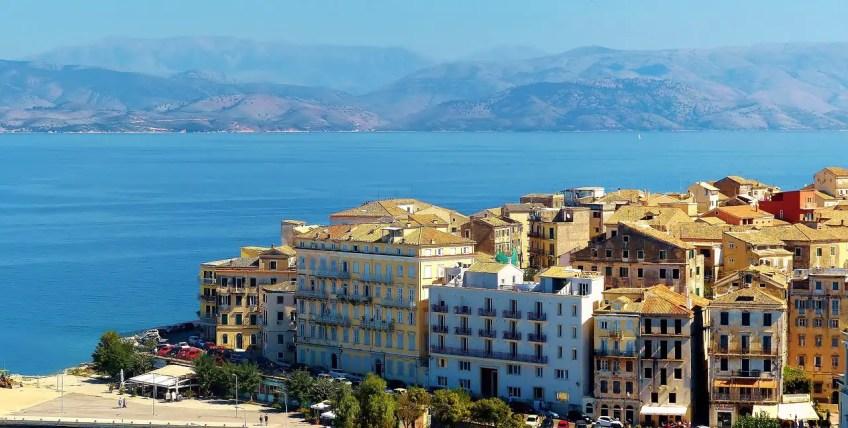 Corfu, winter destinations