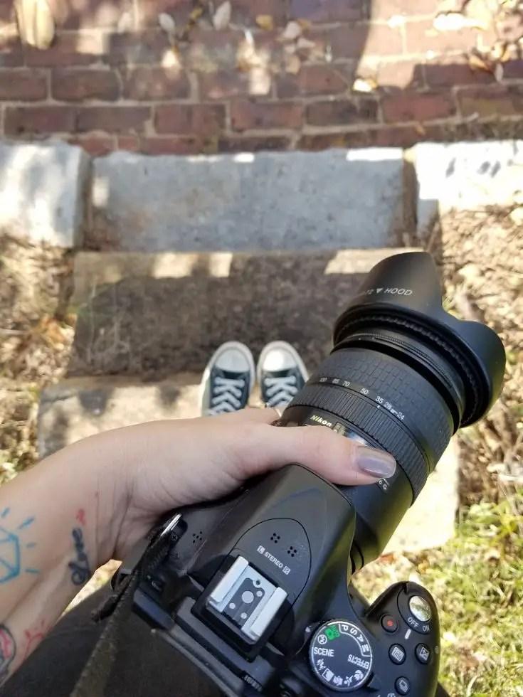 Travel photography tips, camera