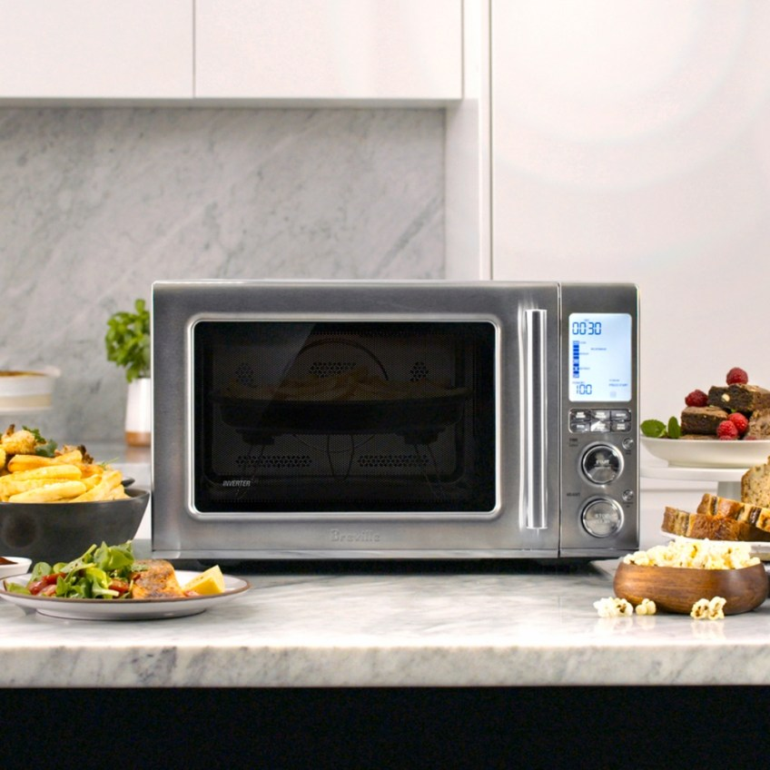 Microwave That Air Fries Breville Combi Wave 3 In 1