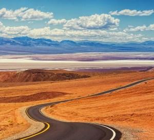 Death Valley, winter road trips