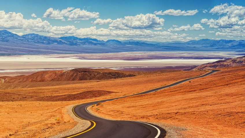 Death Valley, winter road trips