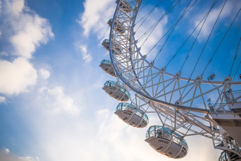 The London Eye, London bucket list