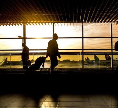 travelers, airport, best time to get to JFK, traveling during current global health concerns