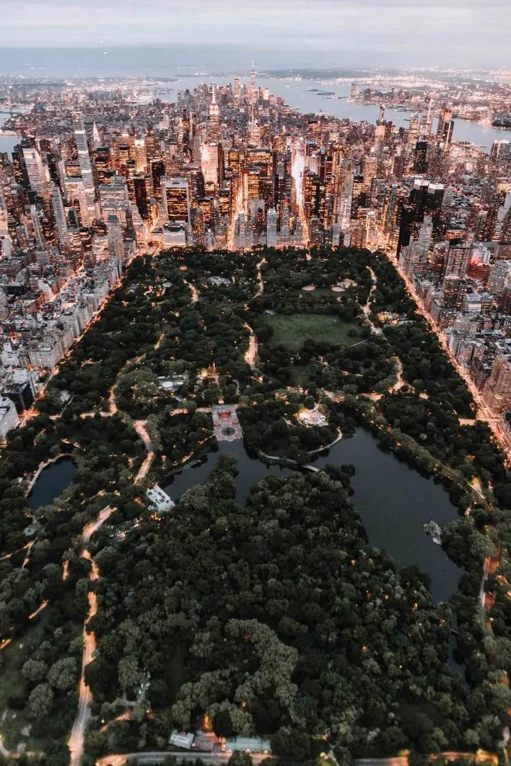 CEntral Park, NYC city break ideas