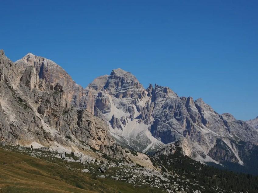 Tofana di Rozes, beginner mountain climbing