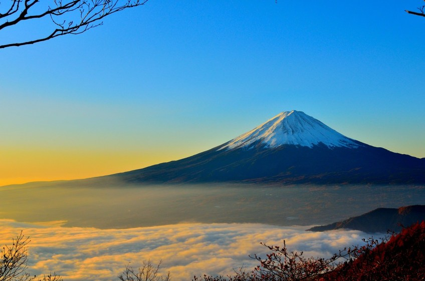 Mount Fuji, beginner Mountain Climbing