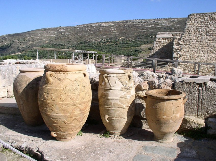 ancient cities in Greece, Knossos, Minotaur