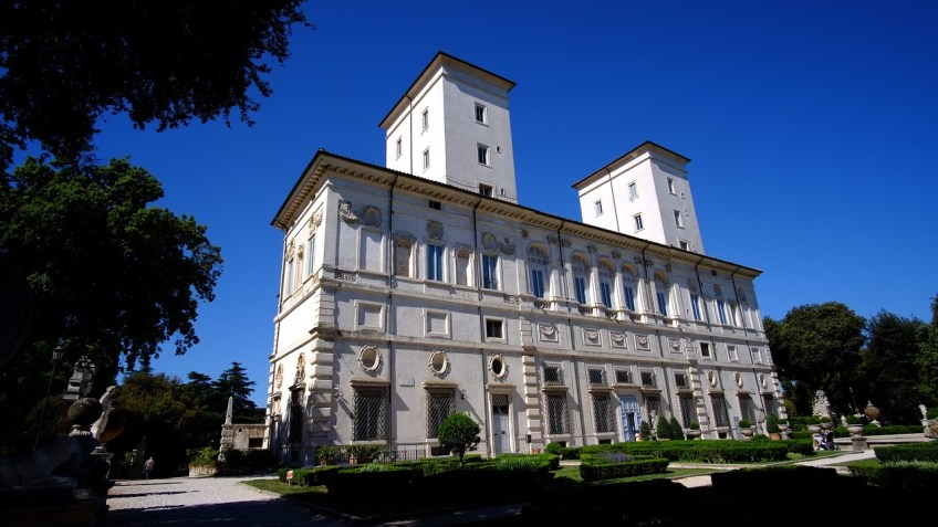 The Borghese Gallery in Rome, Italy