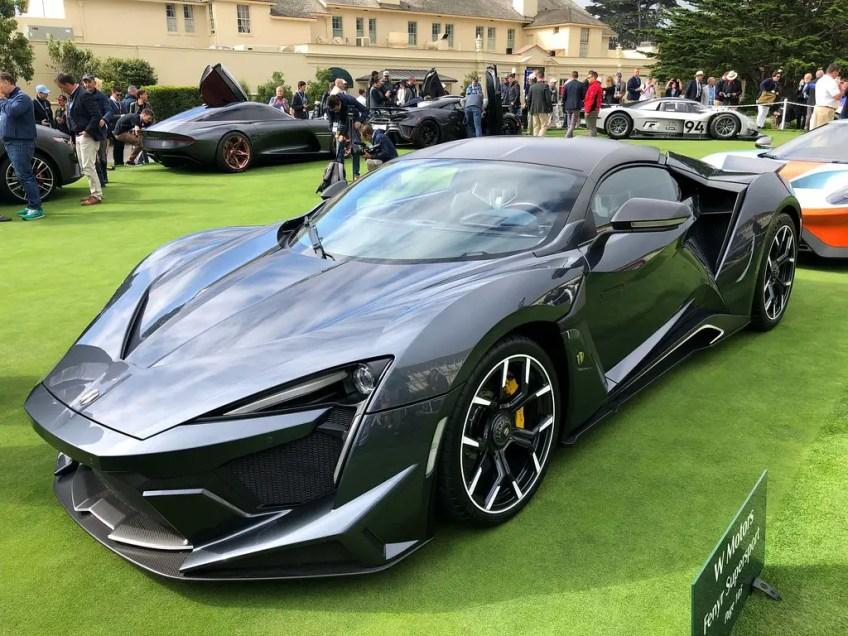 W Motors Fenyr SuperSport car