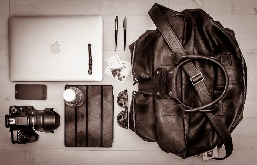 digital nomad jobs, travel blog, computer, laptop case