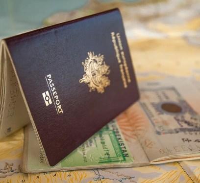 passport, visa, travel documents, Australian travel and work
