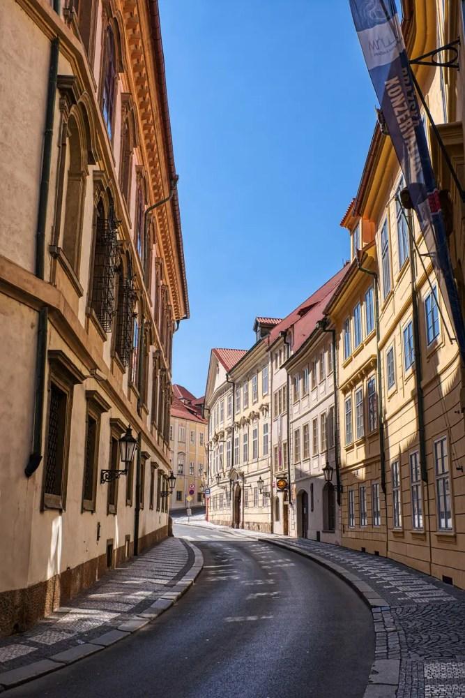 movie scenes of Russia shot in Prague