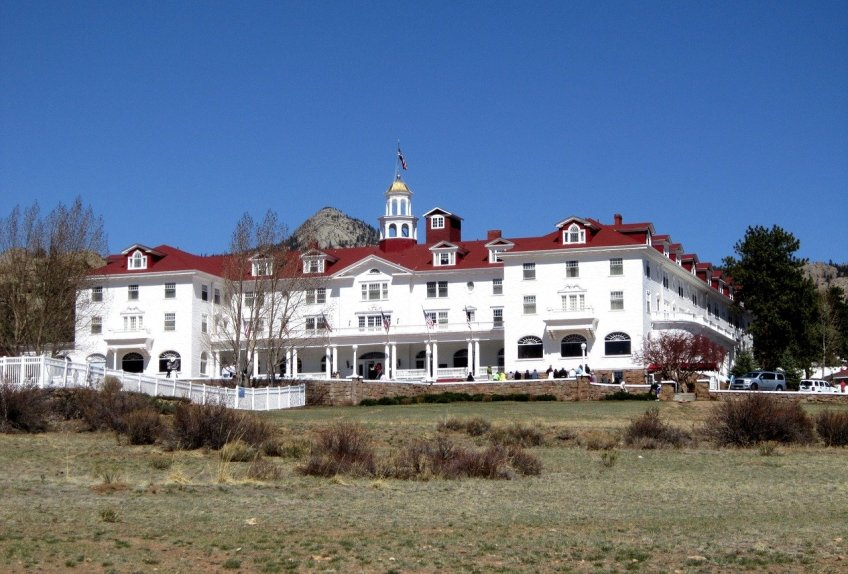 Stanley Hotel, The Overlook Hotel, silver screen staycation