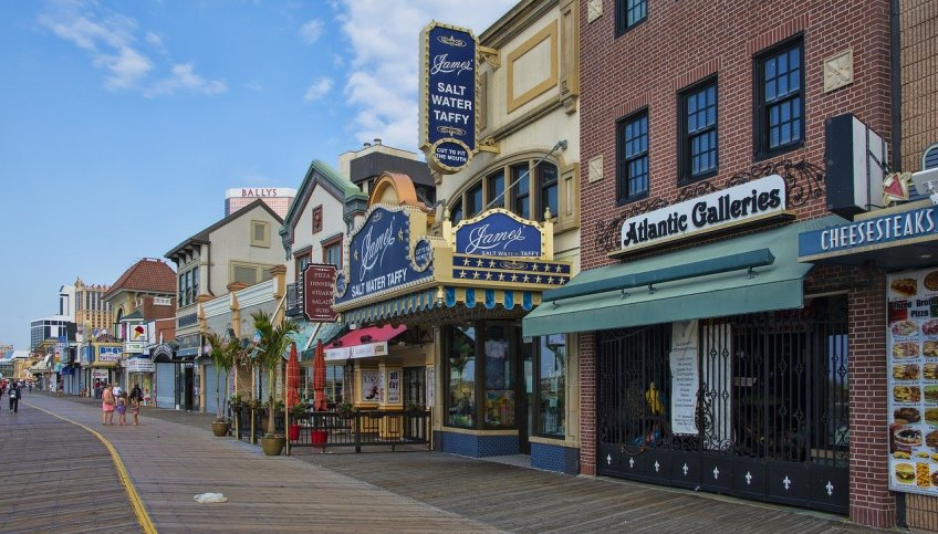 most haunted location, atlantic city, board walk