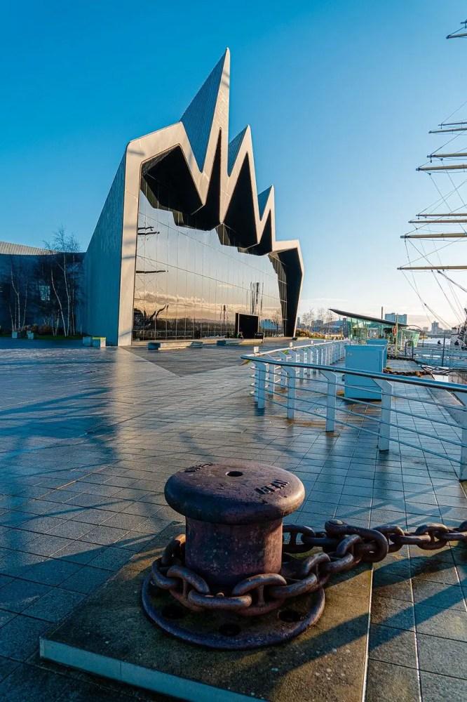 Hidden Gem of Scotland, Riverside Museum, Glasgow
