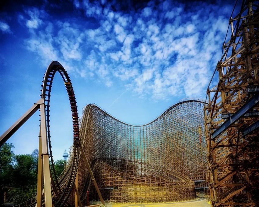 Best US theme parks, kings island, ohio