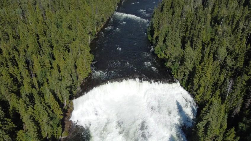 Dawson Falls, Wells Gray Provincial Park, British Columbia, Canada