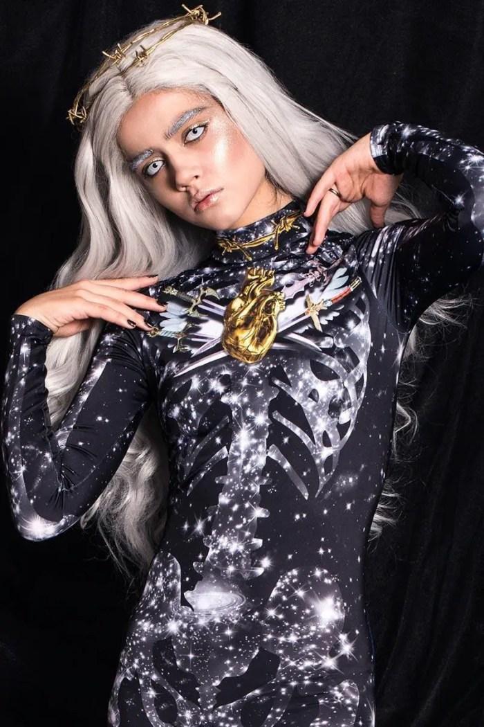 Crystal Skeleton Costume