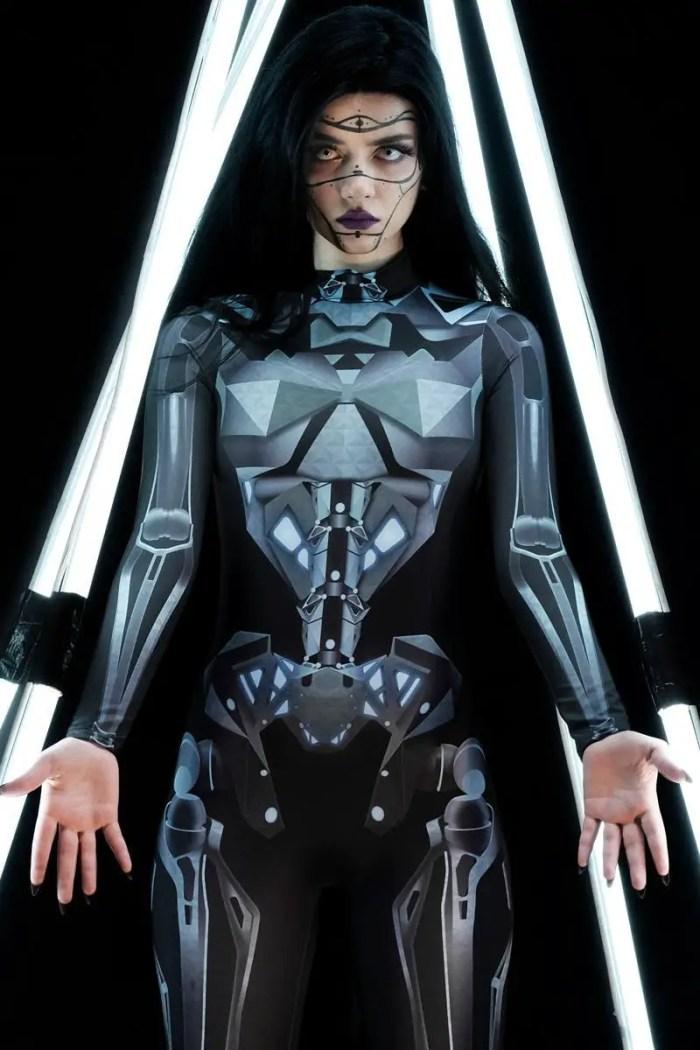 Mechanical Skeleton Costume