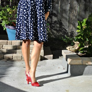 RED SHOES 098