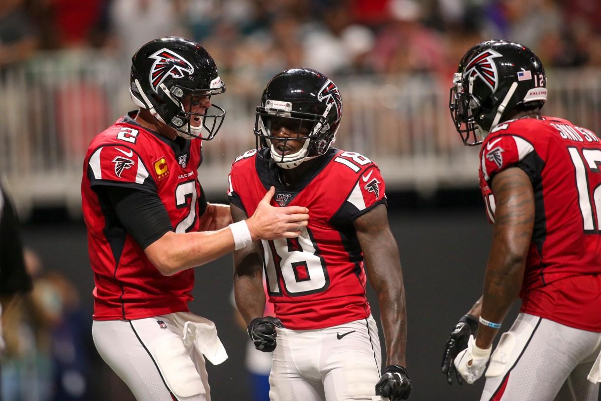 Falcons QB Matt Ryan, WR Calvin Ridley make PFF's team of the week