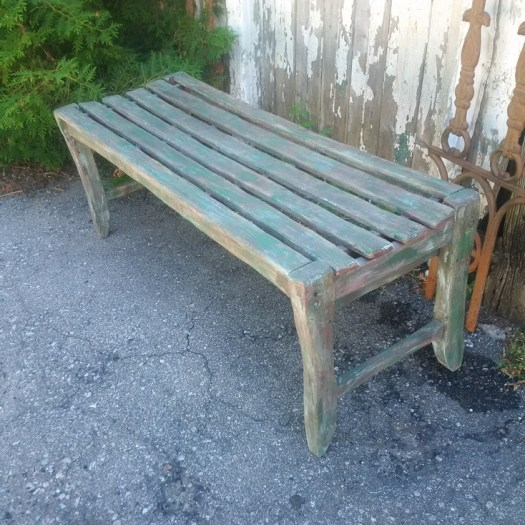 Awesome Distressed Primitive Bench The Falling Down Shed Gmtry Best Dining Table And Chair Ideas Images Gmtryco
