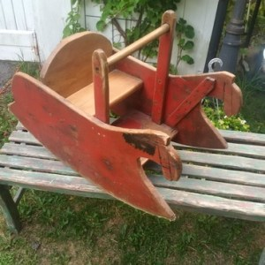 Antique Rocking Horse Chair
