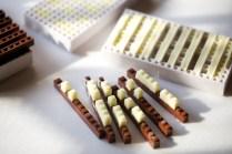 make chocolate LEGO bricks