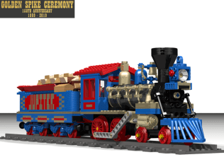 LEGO Ideas Golden Spike Ceremony 2