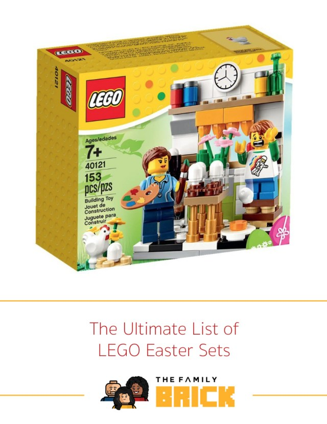 The Ultimate List Of Lego Easter Sets The Family Brick