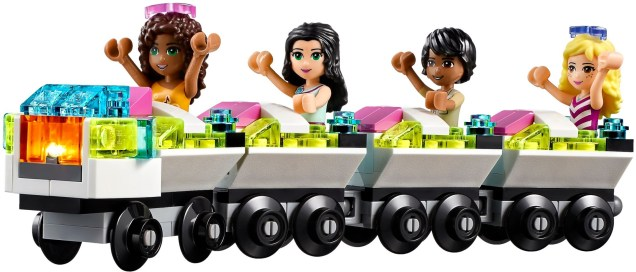 LEGO Friends Amusement Park Roller Coaster - 16