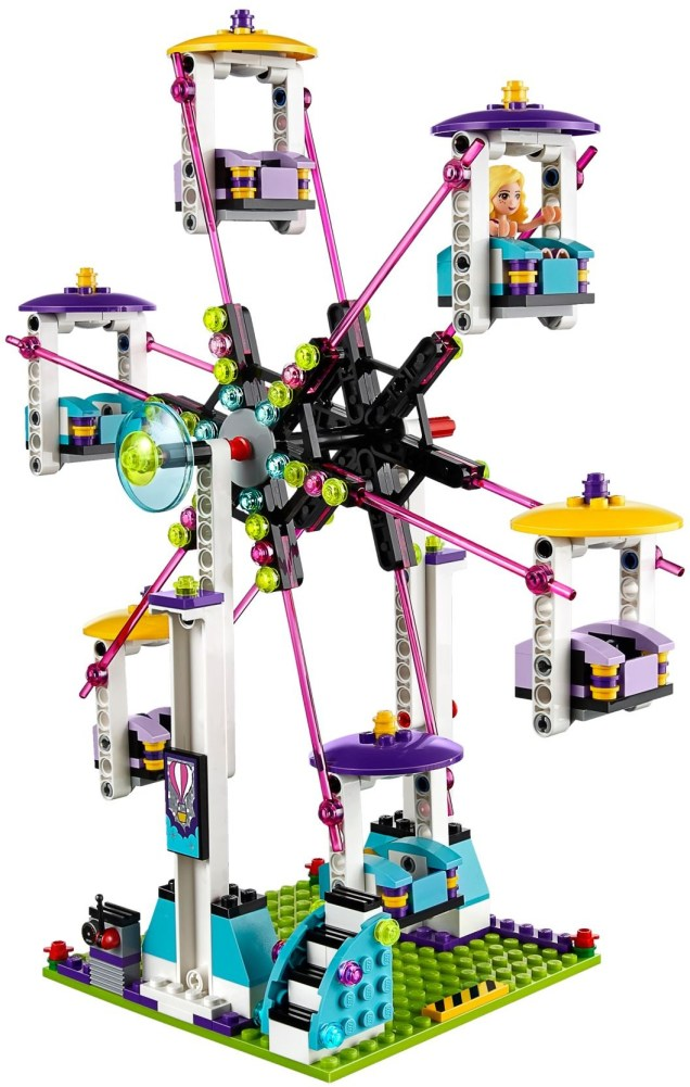 LEGO Friends Amusement Park Roller Coaster - 17