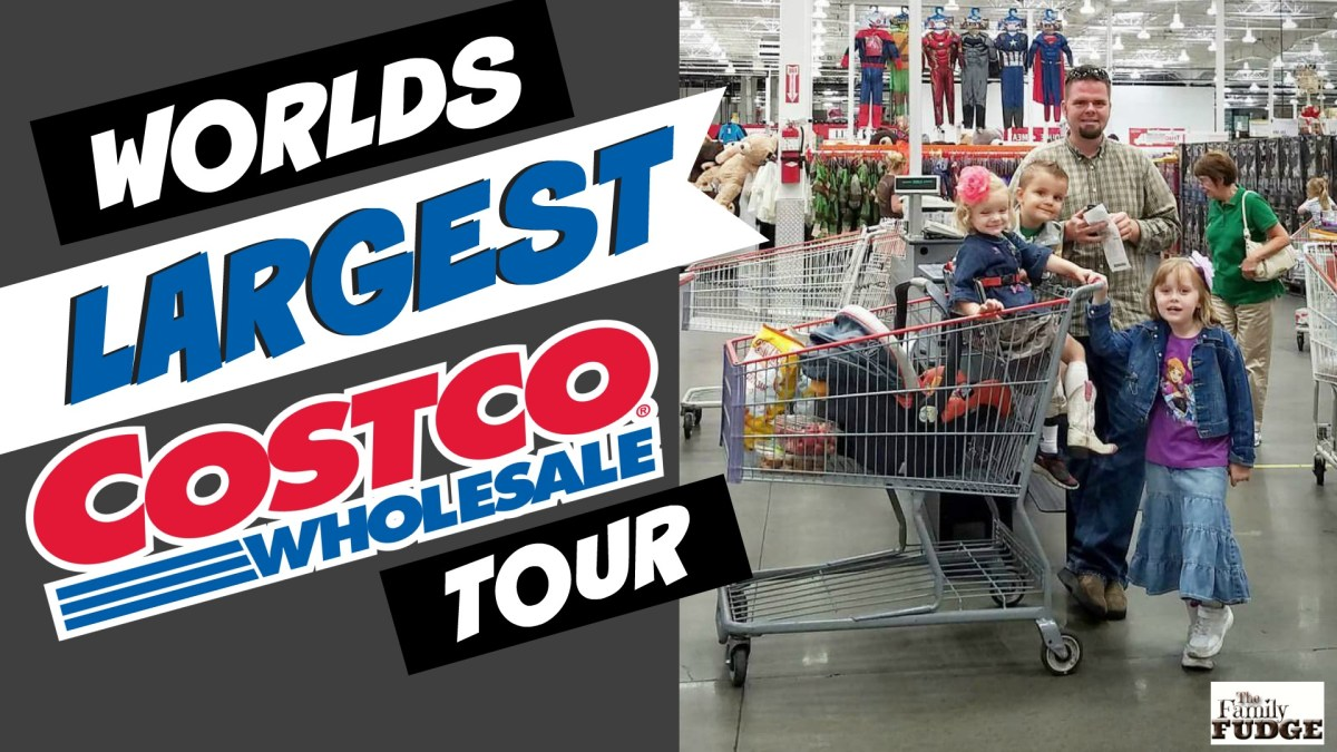 The Largest Costco In The World!