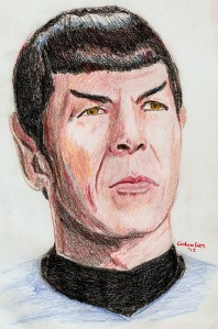 Spock by Tram Painter at Flickr.