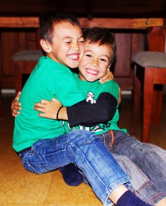 Siblings Get Along by Tiffanie.J at Flickr