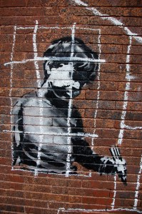 Banksy in Boston by Chris Devers