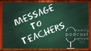 Message to Teachers