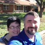 Jeff and His Wife at their New House!