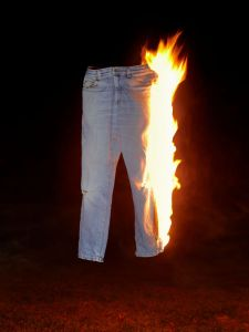 Pants Totally on FIre