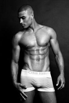 calvin klien model