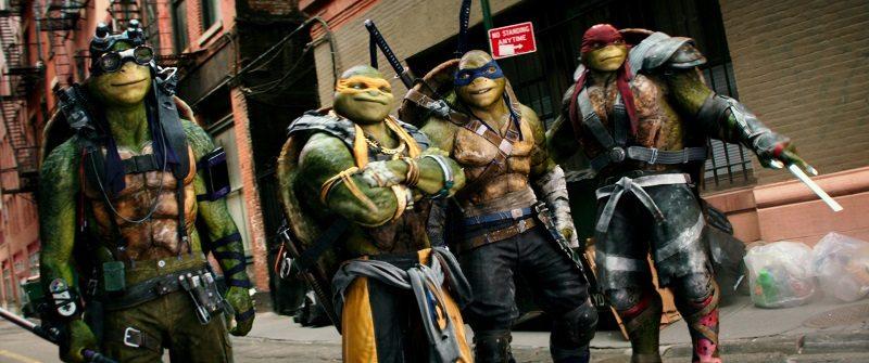 Ten inch mutant ninja turtles parody