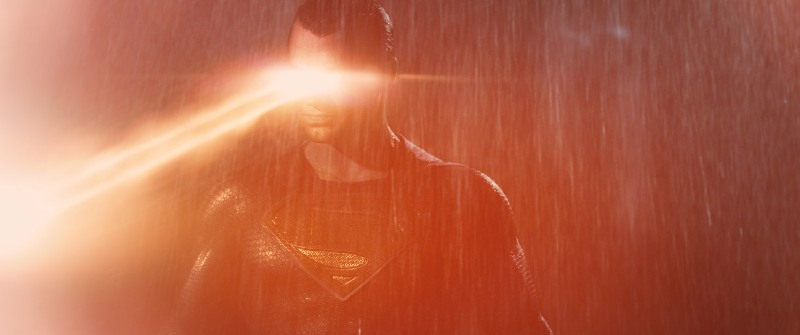 superman heat vision bvs