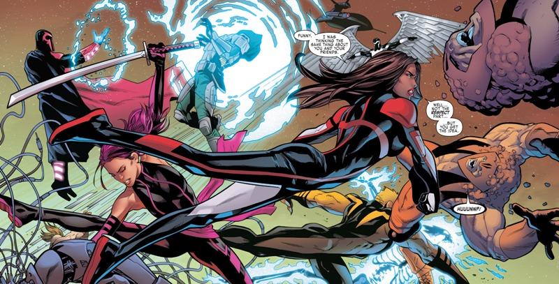 Uncanny X-Men (2016-) 005-007