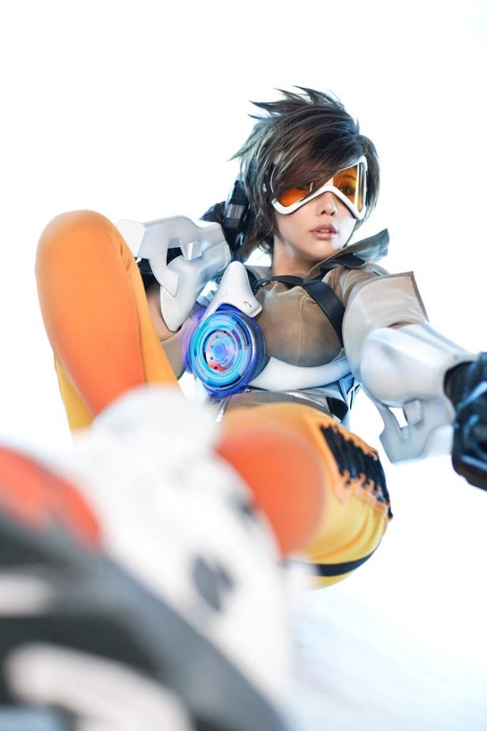 tasha cosplay tracer overwatch (13)