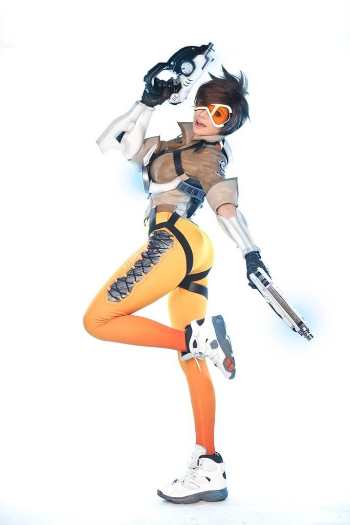 tasha cosplay tracer overwatch (14)