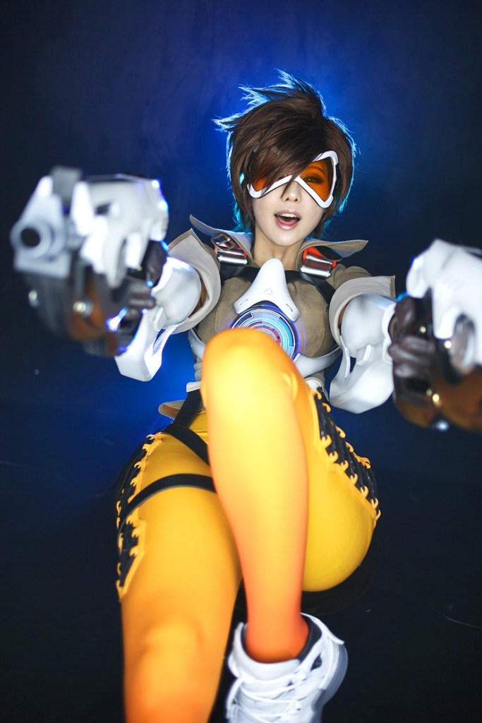 tasha cosplay tracer overwatch (2)