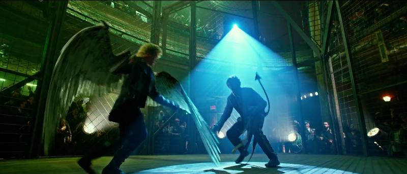 x-men apocalypse nightcrawler vs angel